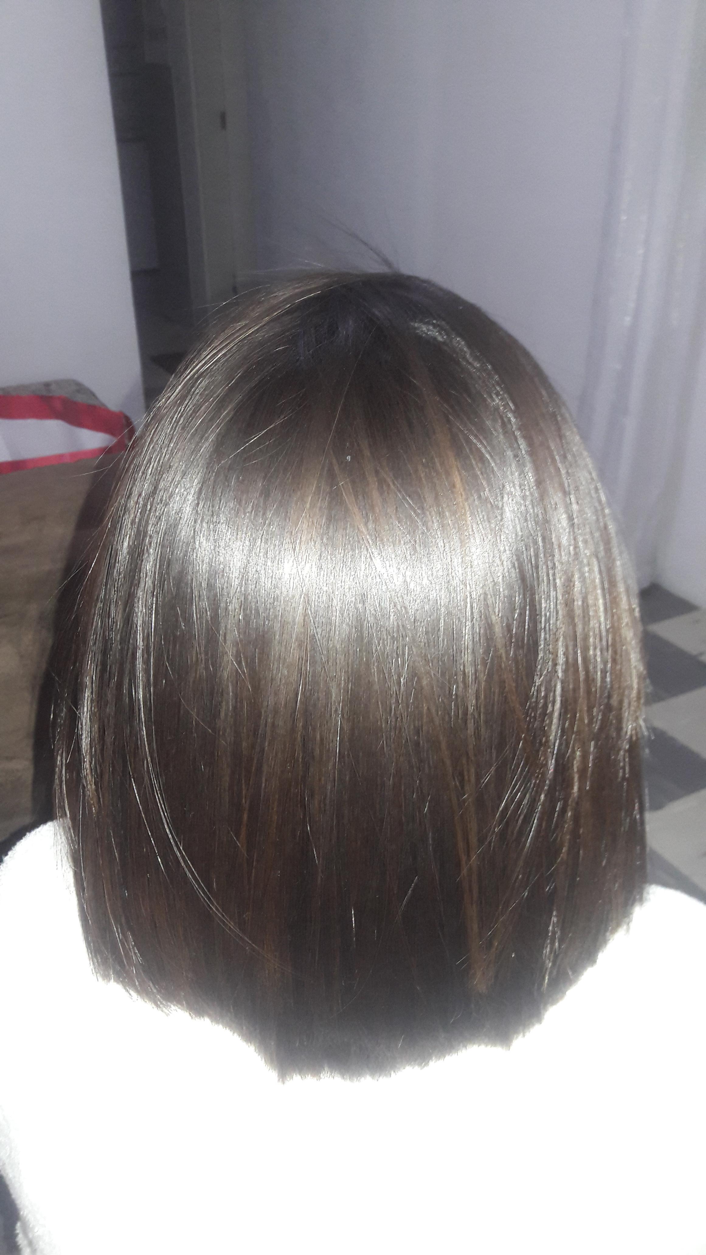 Morena iluminada  Progressiva e corte  cabelo cabeleireiro(a)