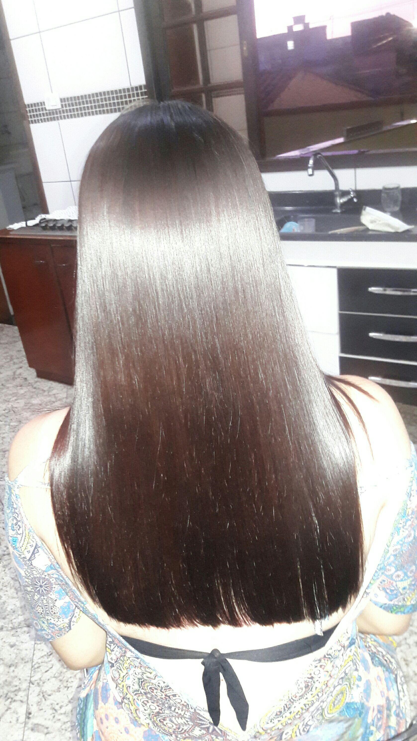 Progressiva e corte cabelo cabeleireiro(a)