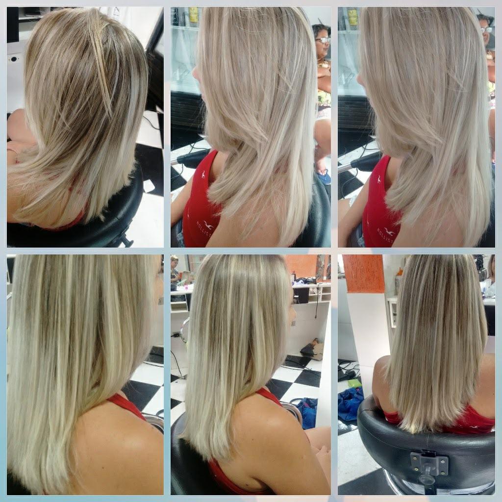 Ombre   cabeleireiro(a) designer de sobrancelhas