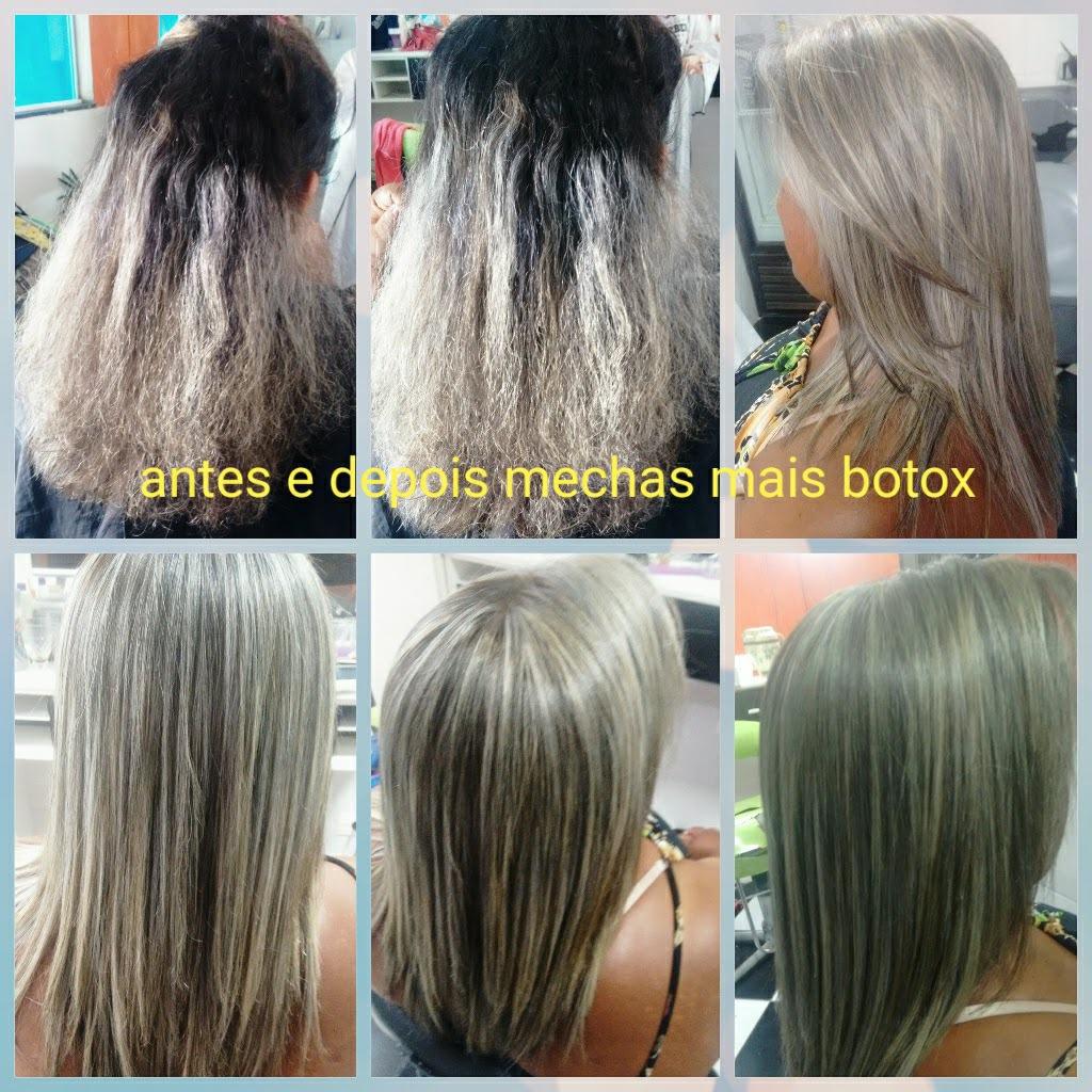 Retoque de luzes mais botox ....  cabeleireiro(a) designer de sobrancelhas