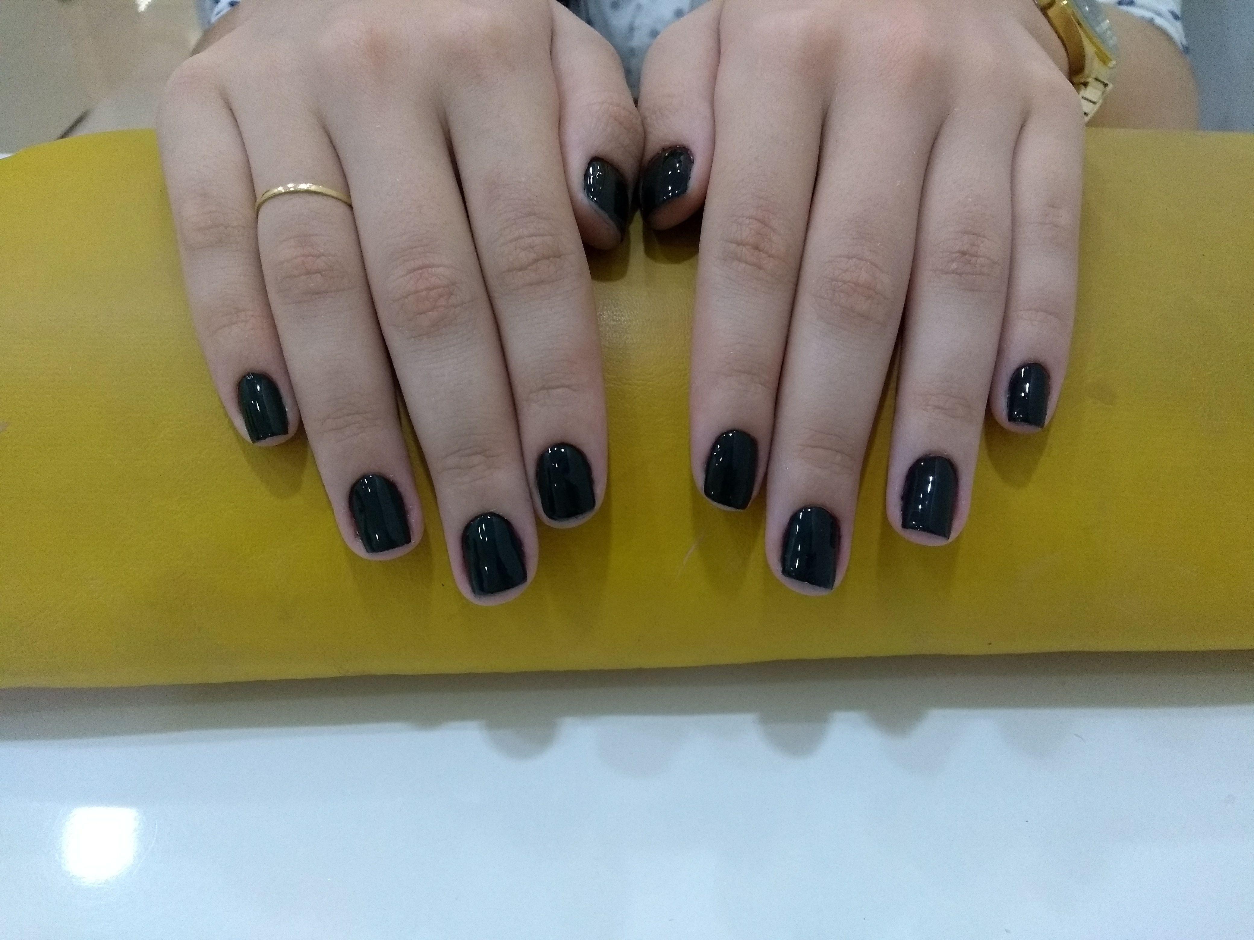 Esmaltação permanente unha manicure e pedicure