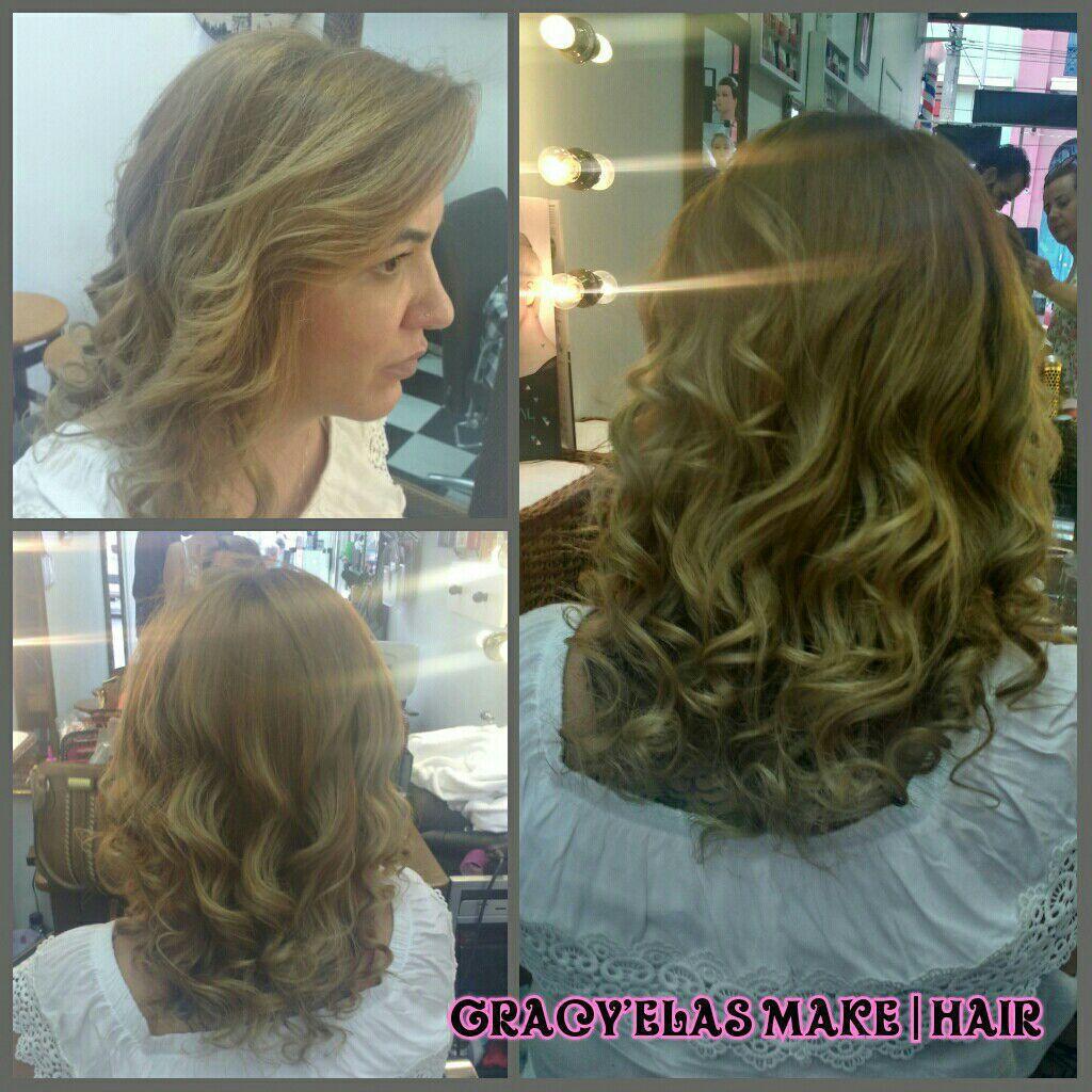 Escova & babylis cabelo cabeleireiro(a) maquiador(a)