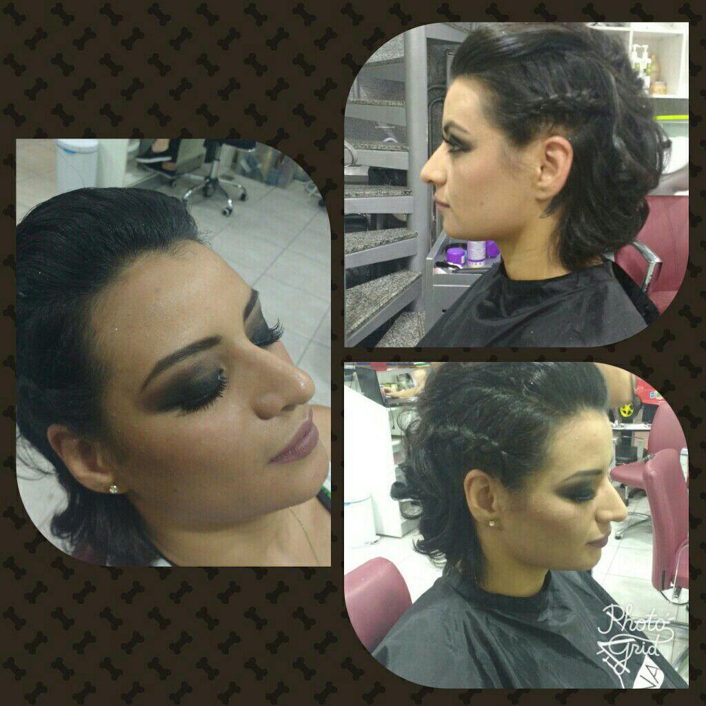 Make e penteado cabelo cabeleireiro(a) maquiador(a)