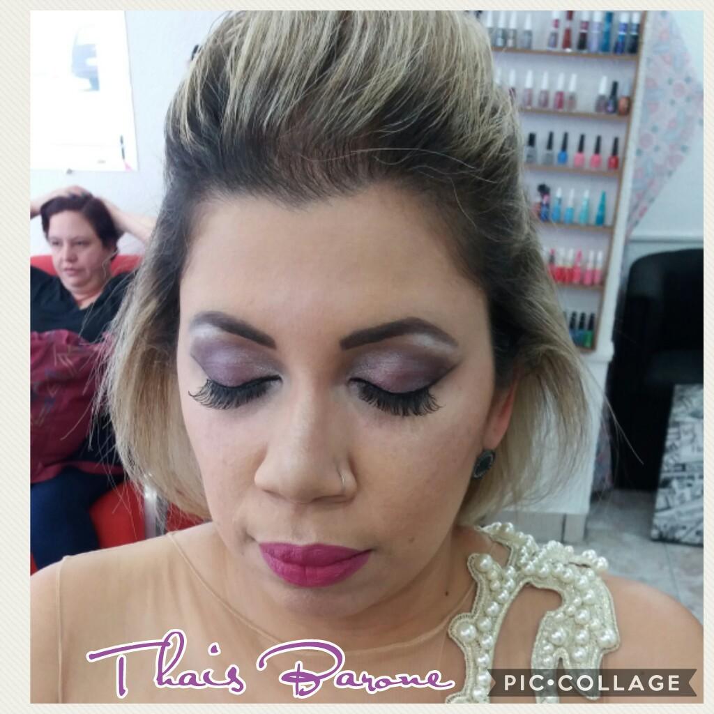 Maquiagem social para madrinha maquiador(a) auxiliar cabeleireiro(a)
