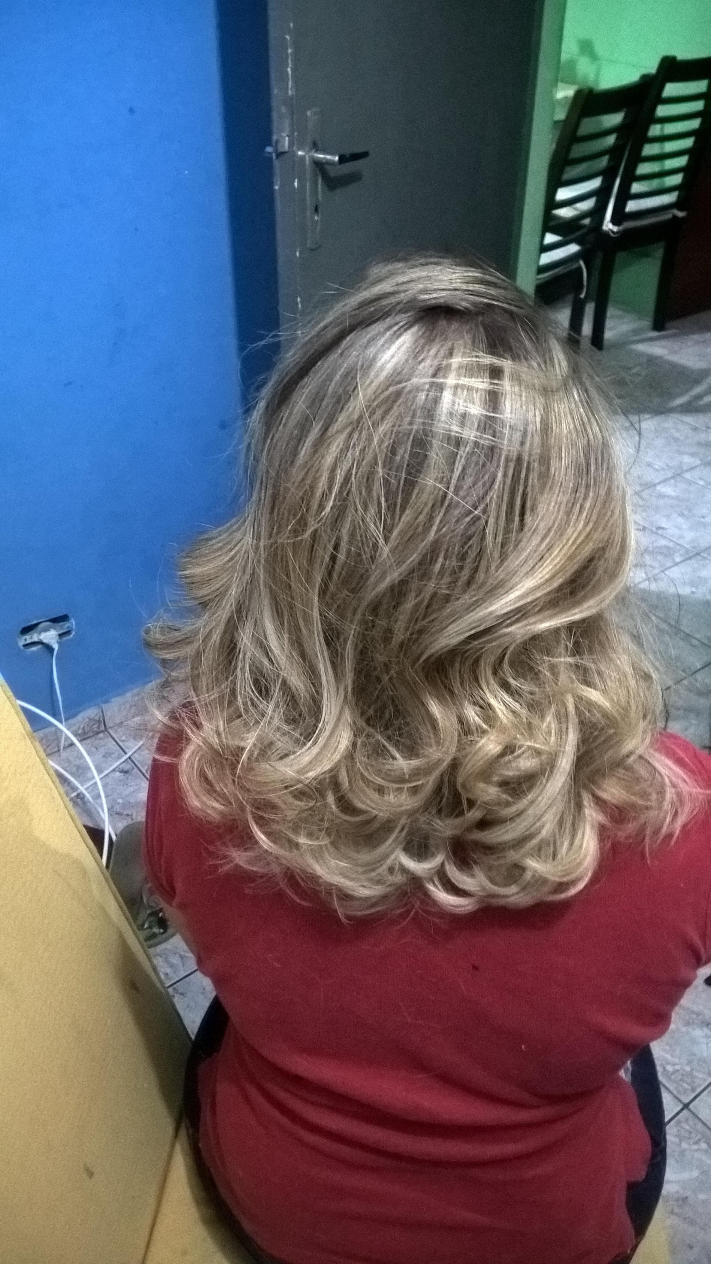 Mechas esplendorosas! cabelo cabeleireiro(a)