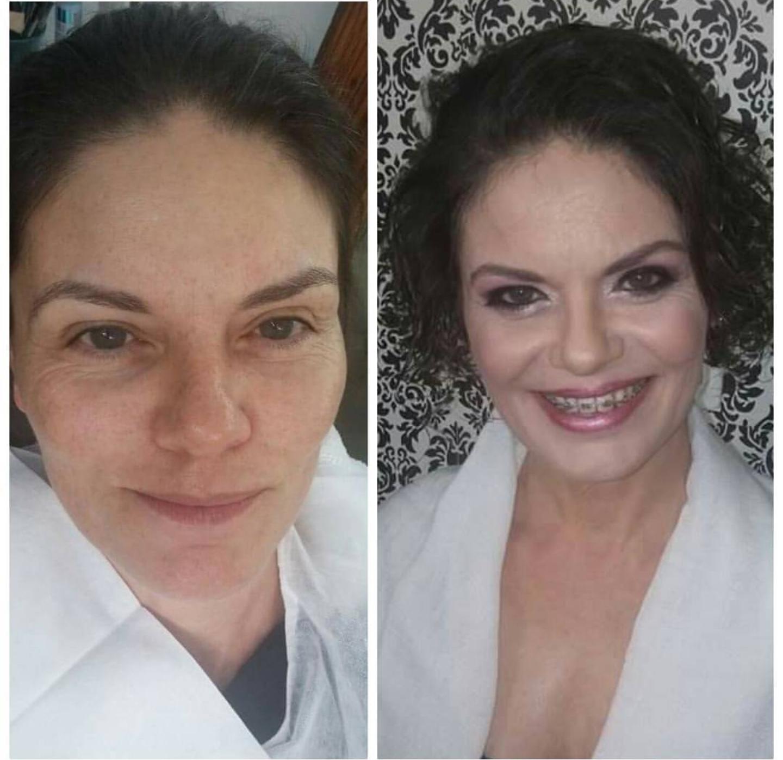 Makeup para madrinha de casamento  Pele madura maquiagem maquiador(a)