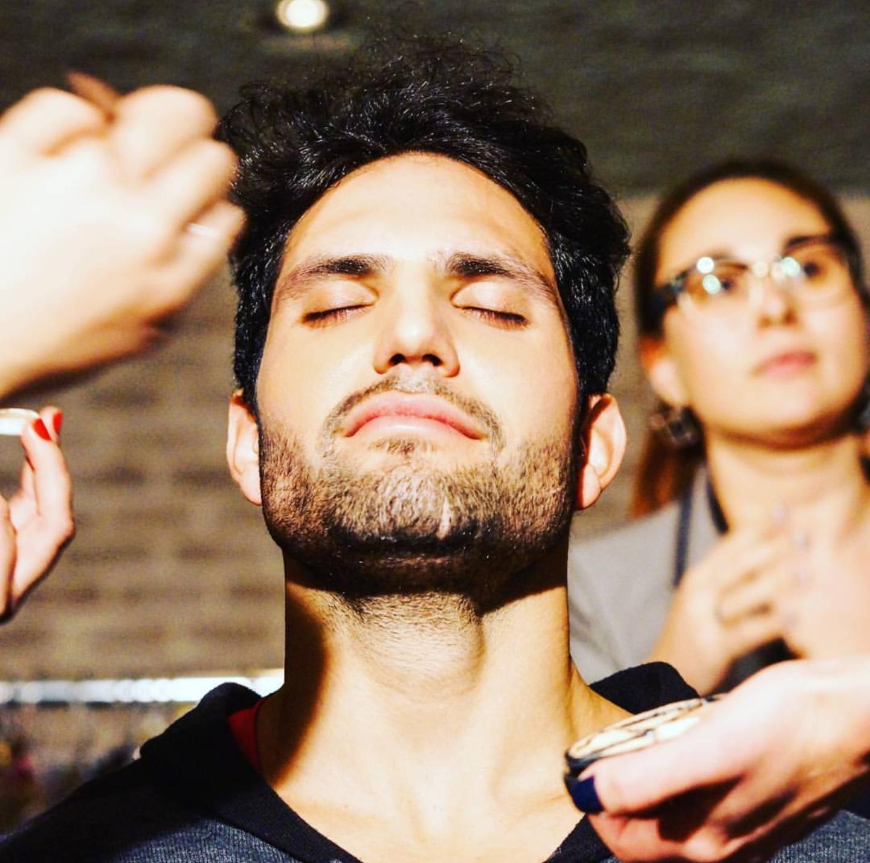 Makeup masculina para passarela maquiagem maquiador(a)
