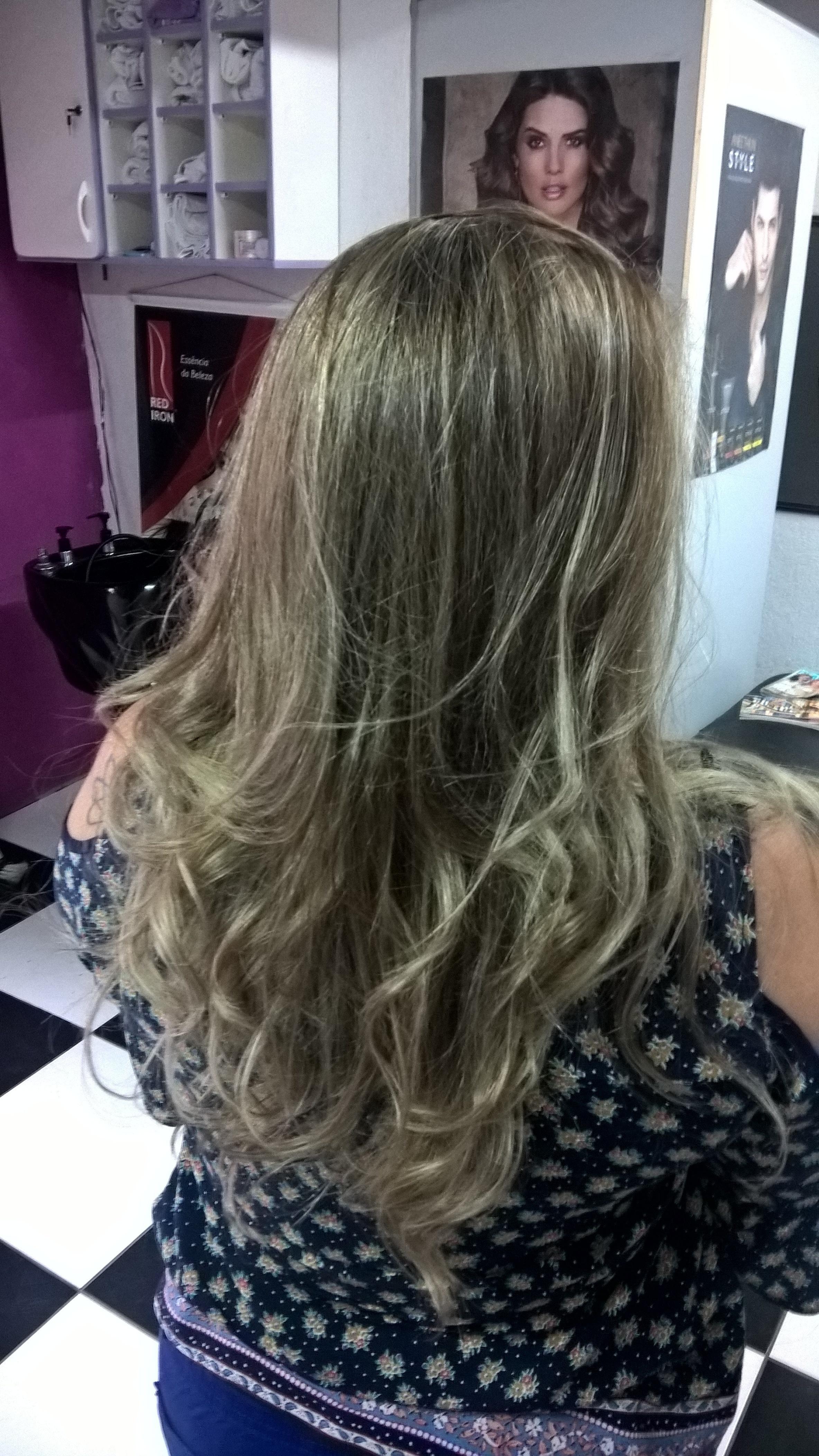 mechas peroladas ! cabelo cabeleireiro(a)