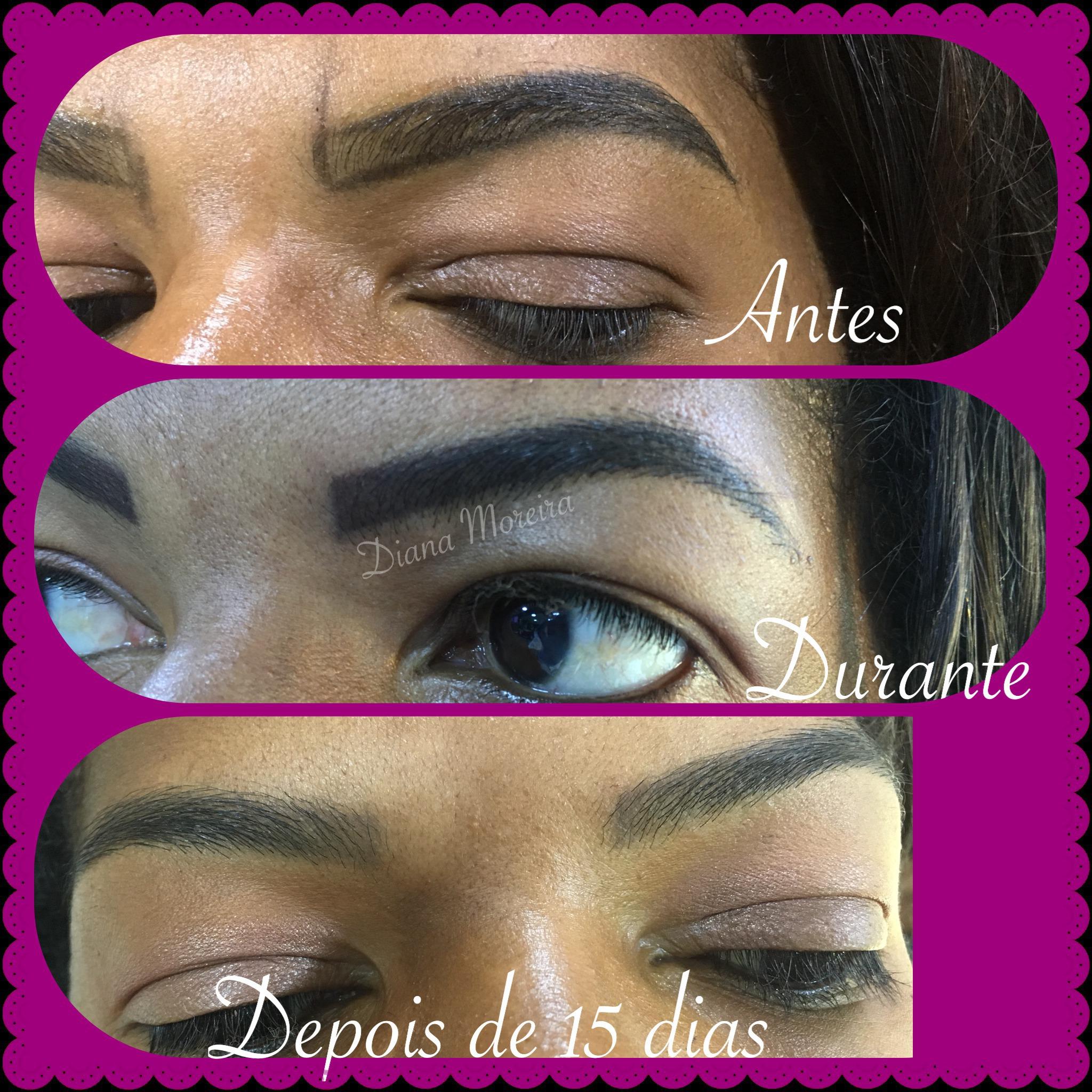 Micropigmentação efeito natural estética designer de sobrancelhas micropigmentador(a) cabeleireiro(a)