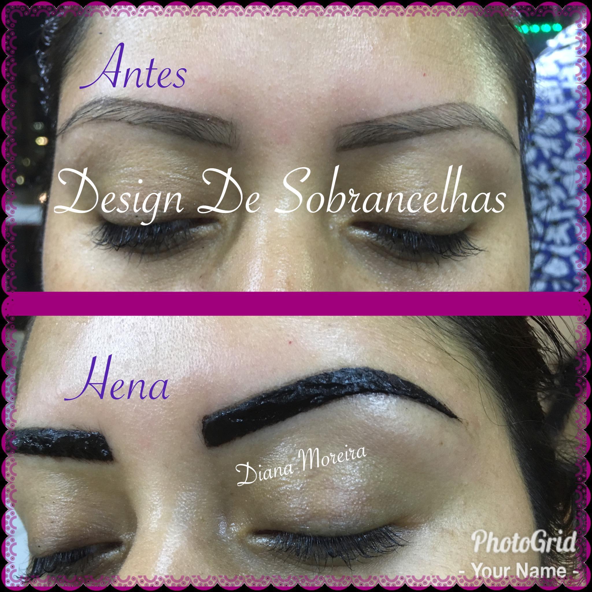 Sobrancelha de Henna estética designer de sobrancelhas micropigmentador(a) cabeleireiro(a)