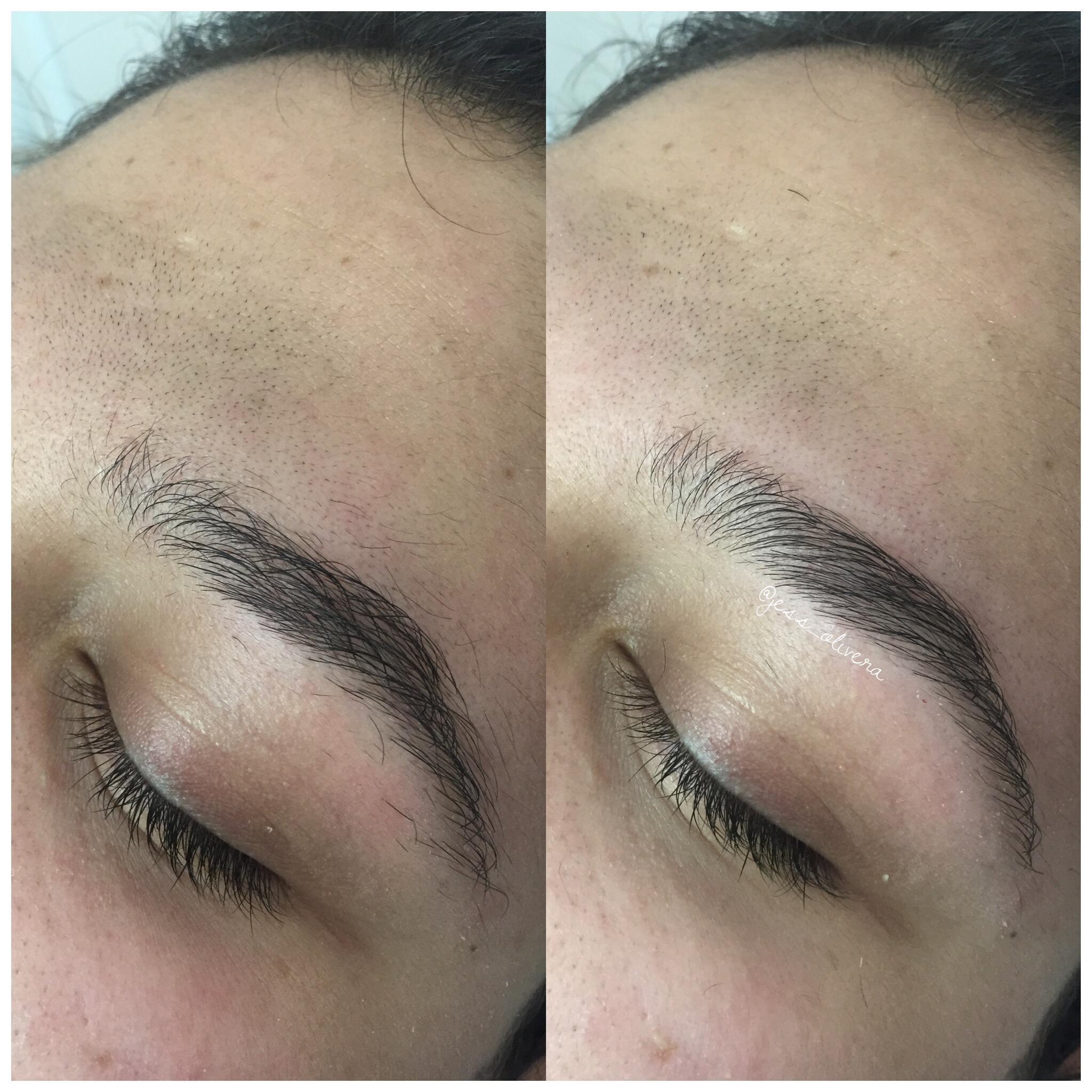 Antes e depois! #sobrancelhas #naturais estética designer de sobrancelhas