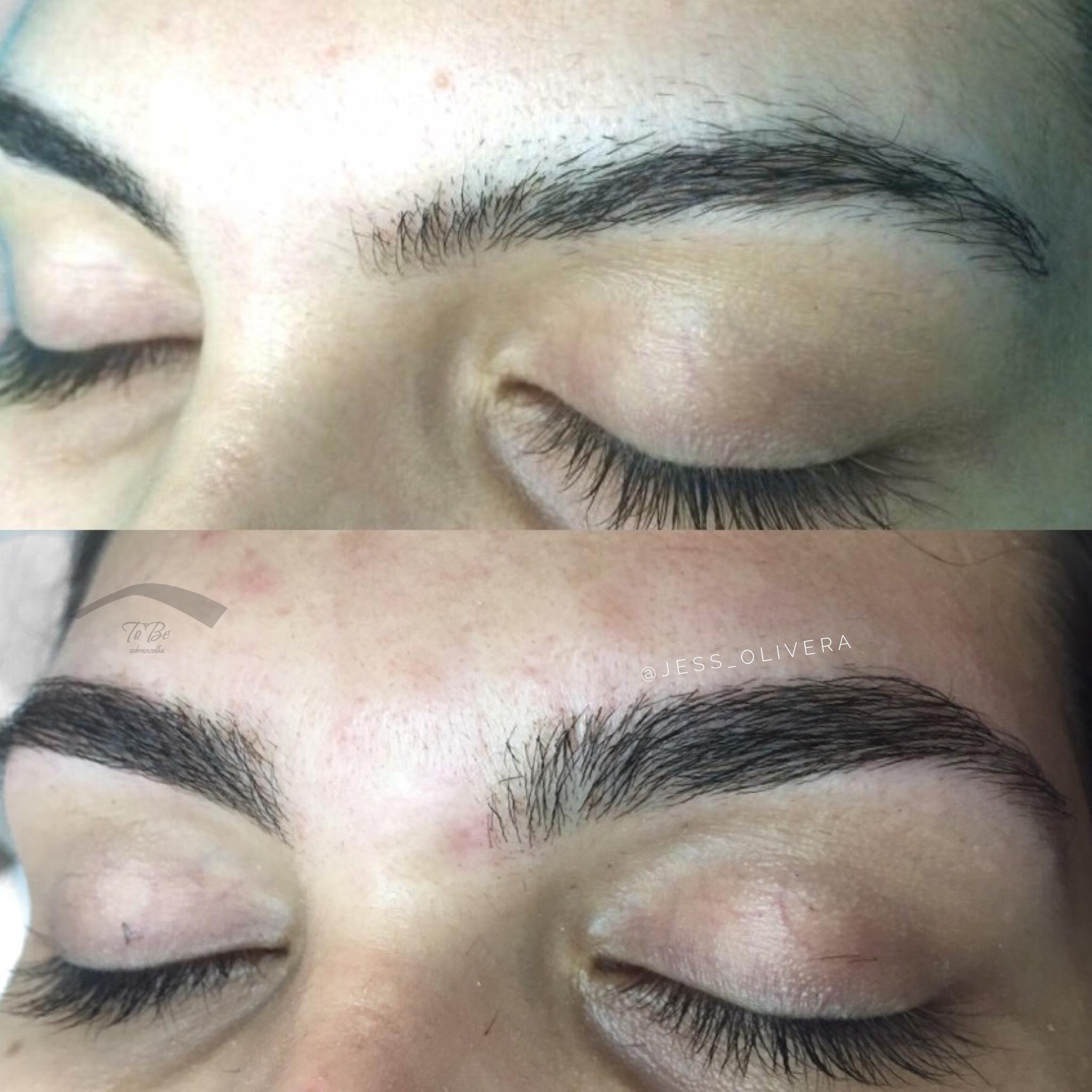 Antes e depois! #sobrancelhas  estética designer de sobrancelhas