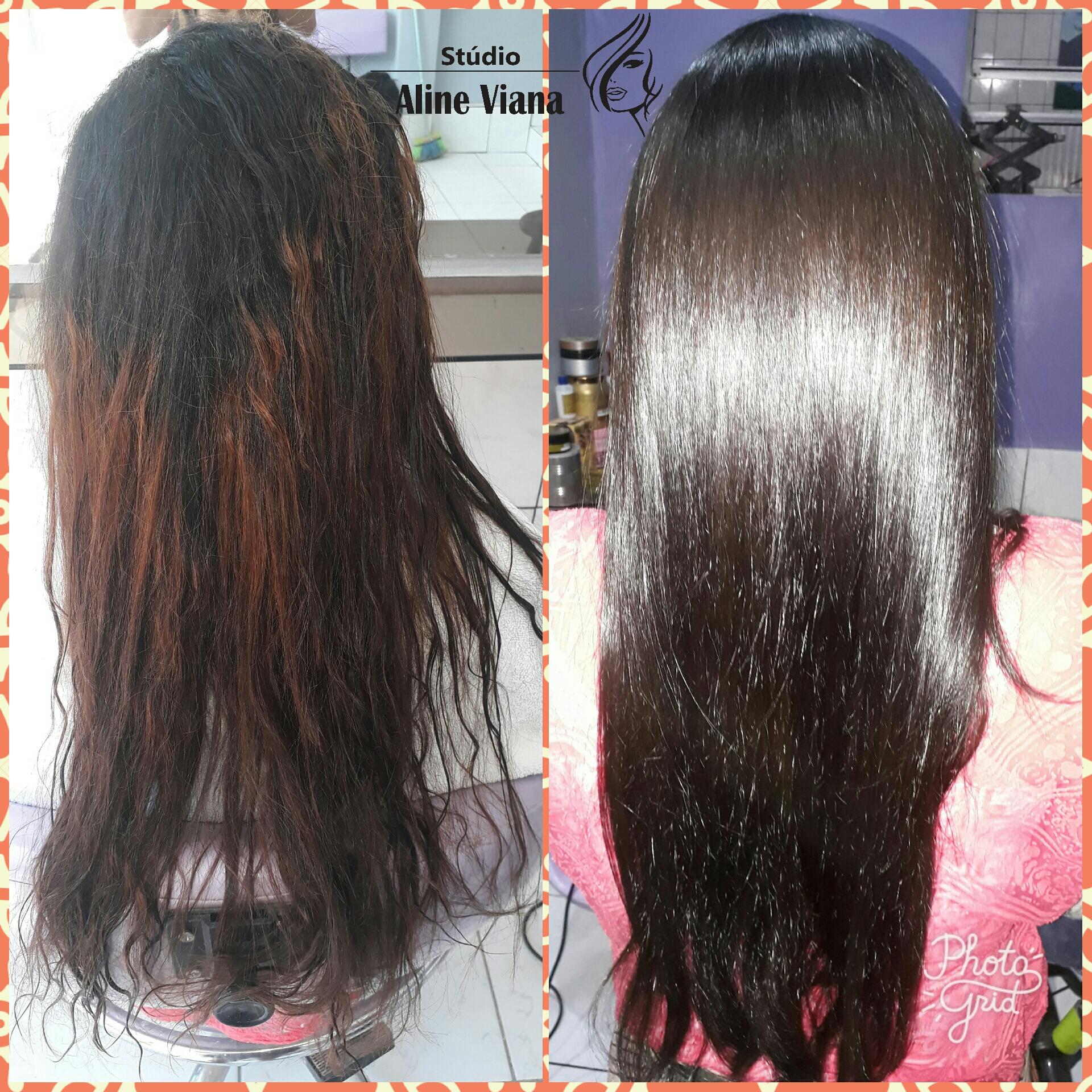 Progressiva e coloração, resultado imediado. cabelo auxiliar cabeleireiro(a) designer de sobrancelhas