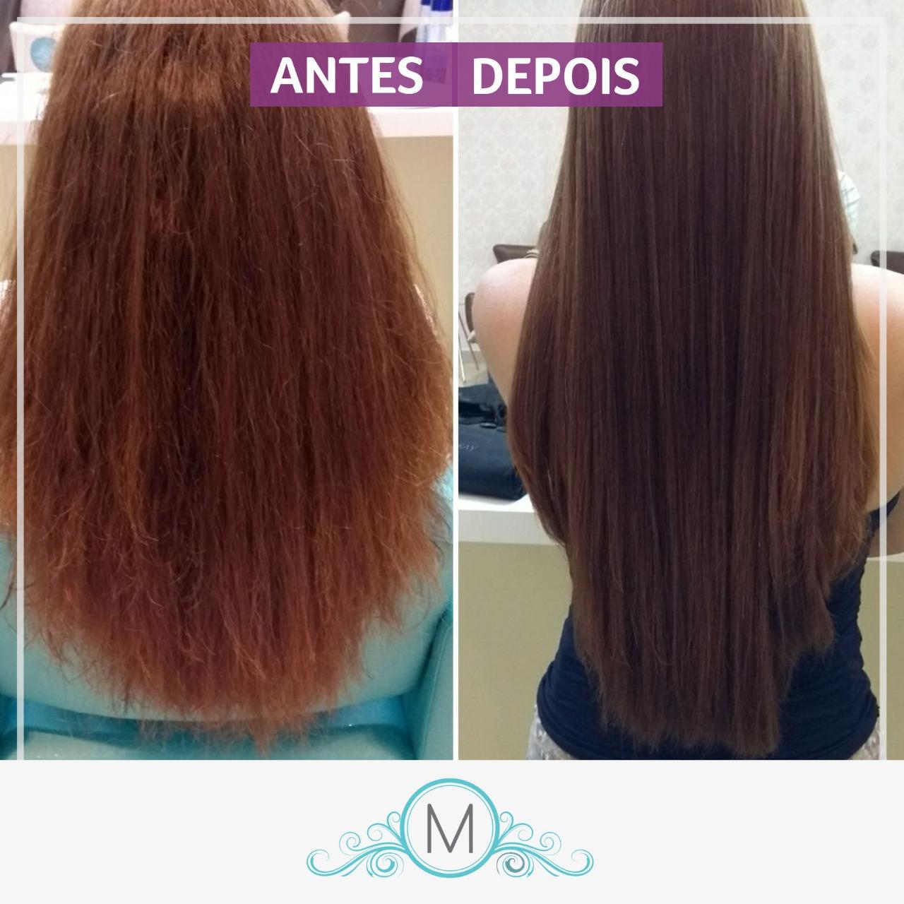 Ciclo em nossa cliente, resultado maravilhoso! cabelo empresário(a)