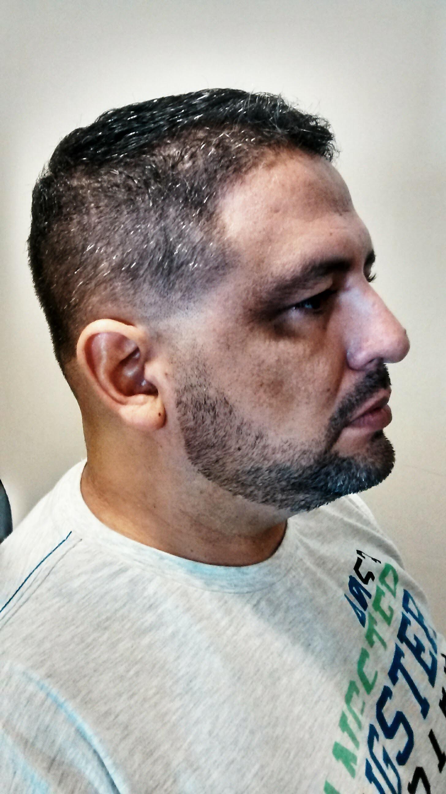 Depois - #antesdepois cabelo barbeiro(a)