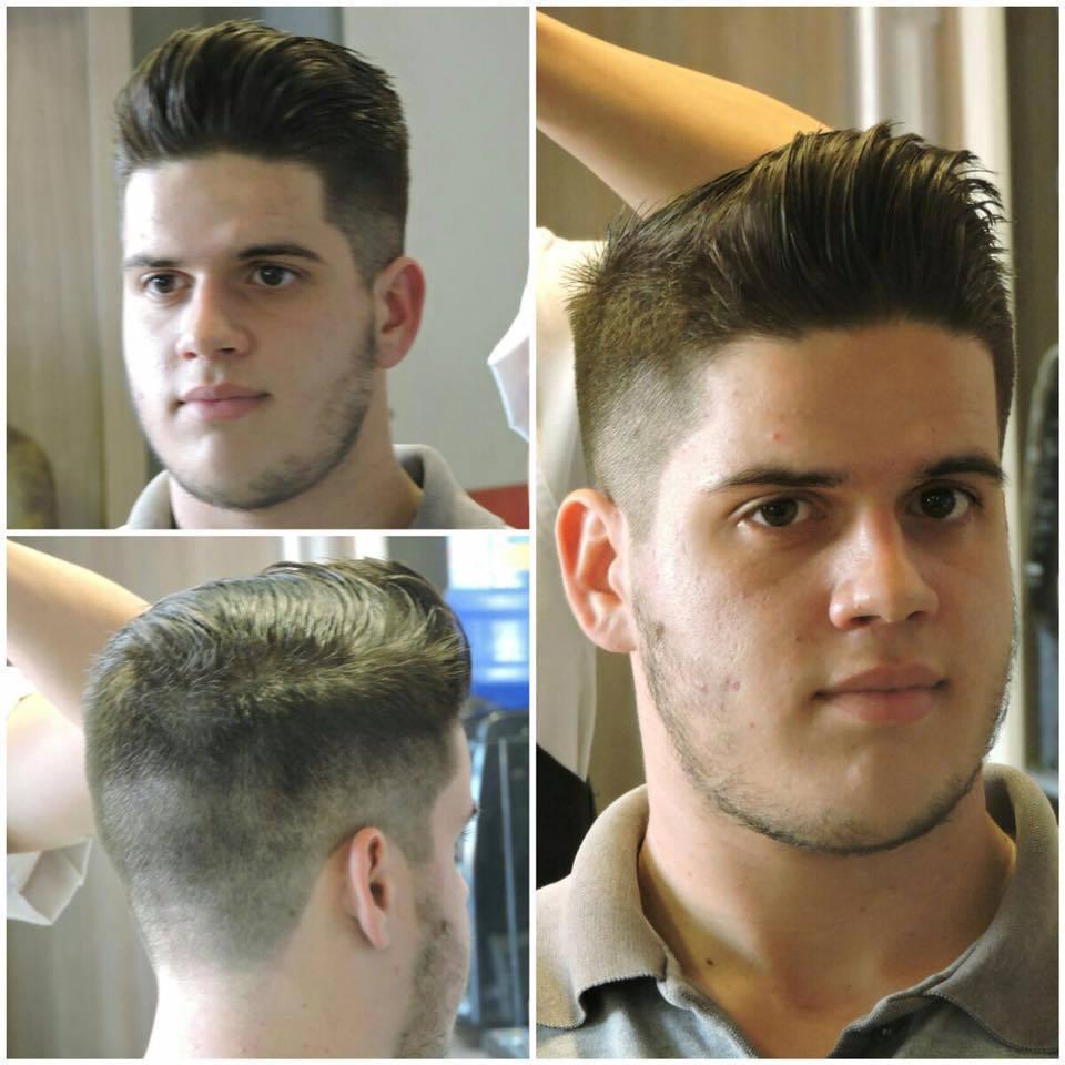 montagem corte cliente luciano cabelo barbeiro(a)