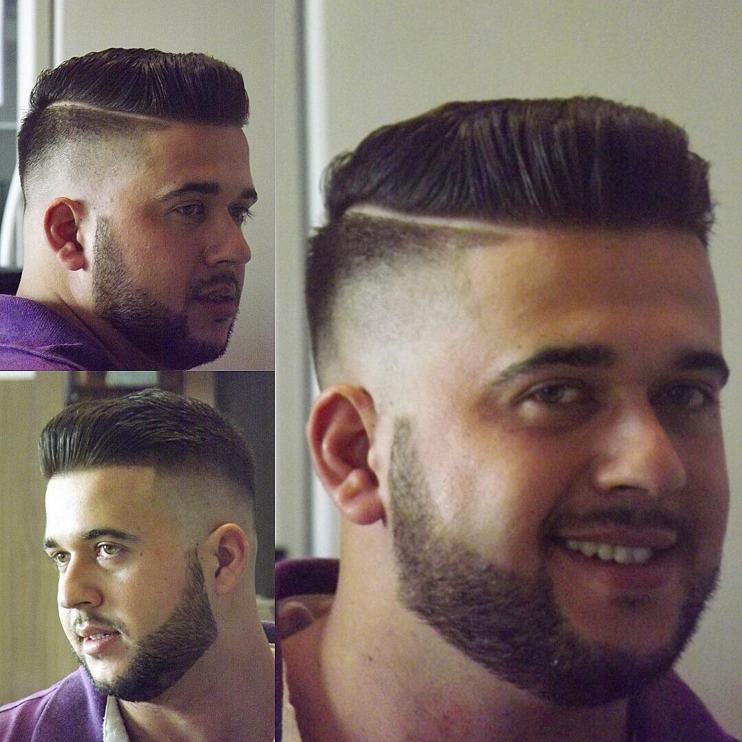 montagem corte marcio corte + barba cabelo barbeiro(a)