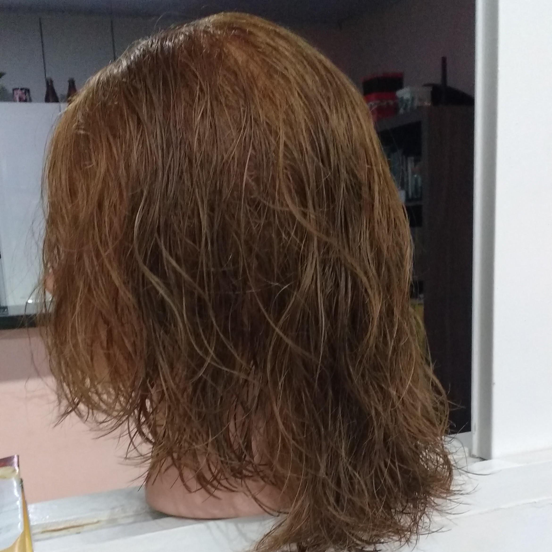 Corte com texturização slice cut cabelo estudante (cabeleireiro)