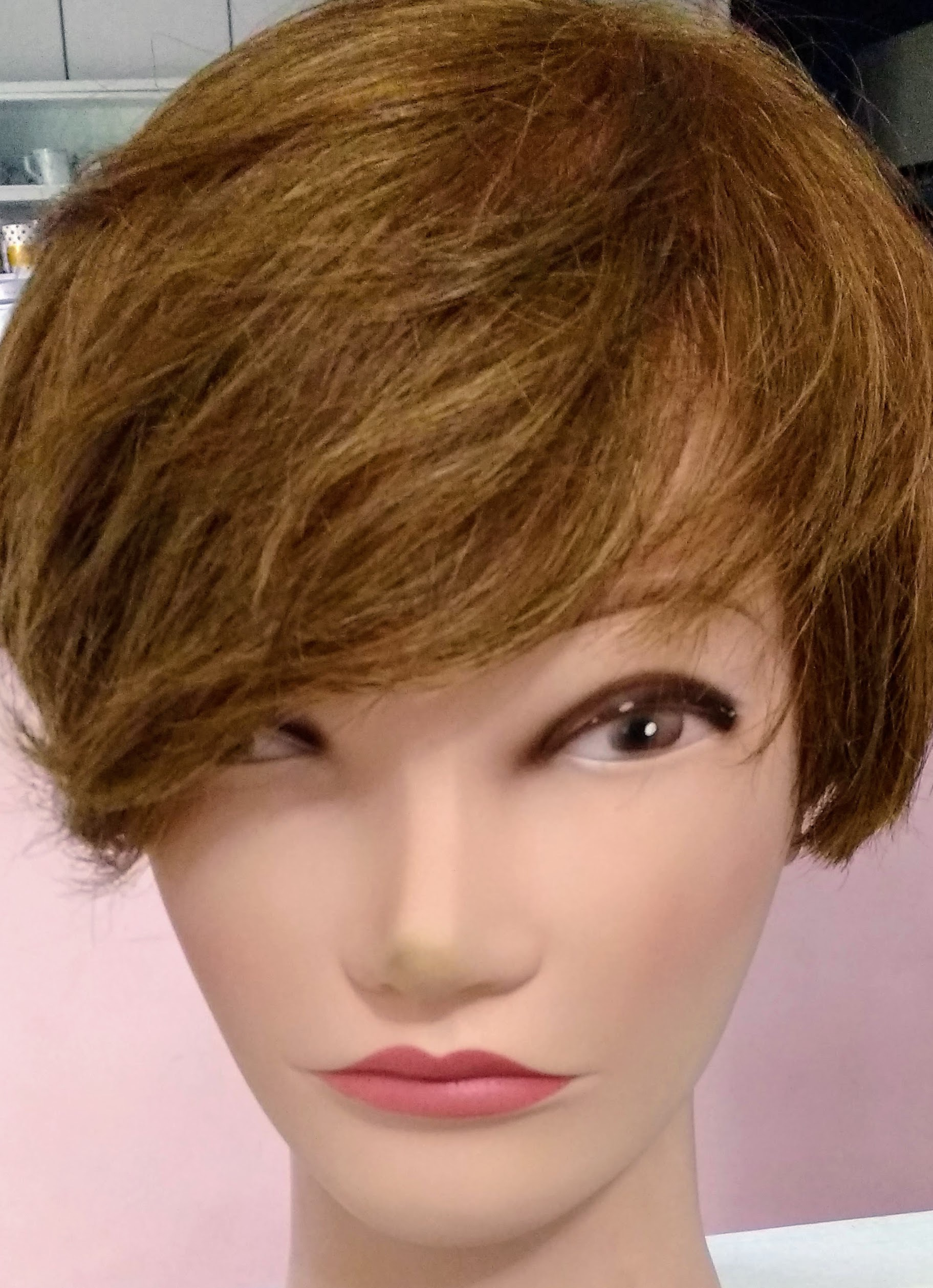 Corte chant cabelo estudante (cabeleireiro)