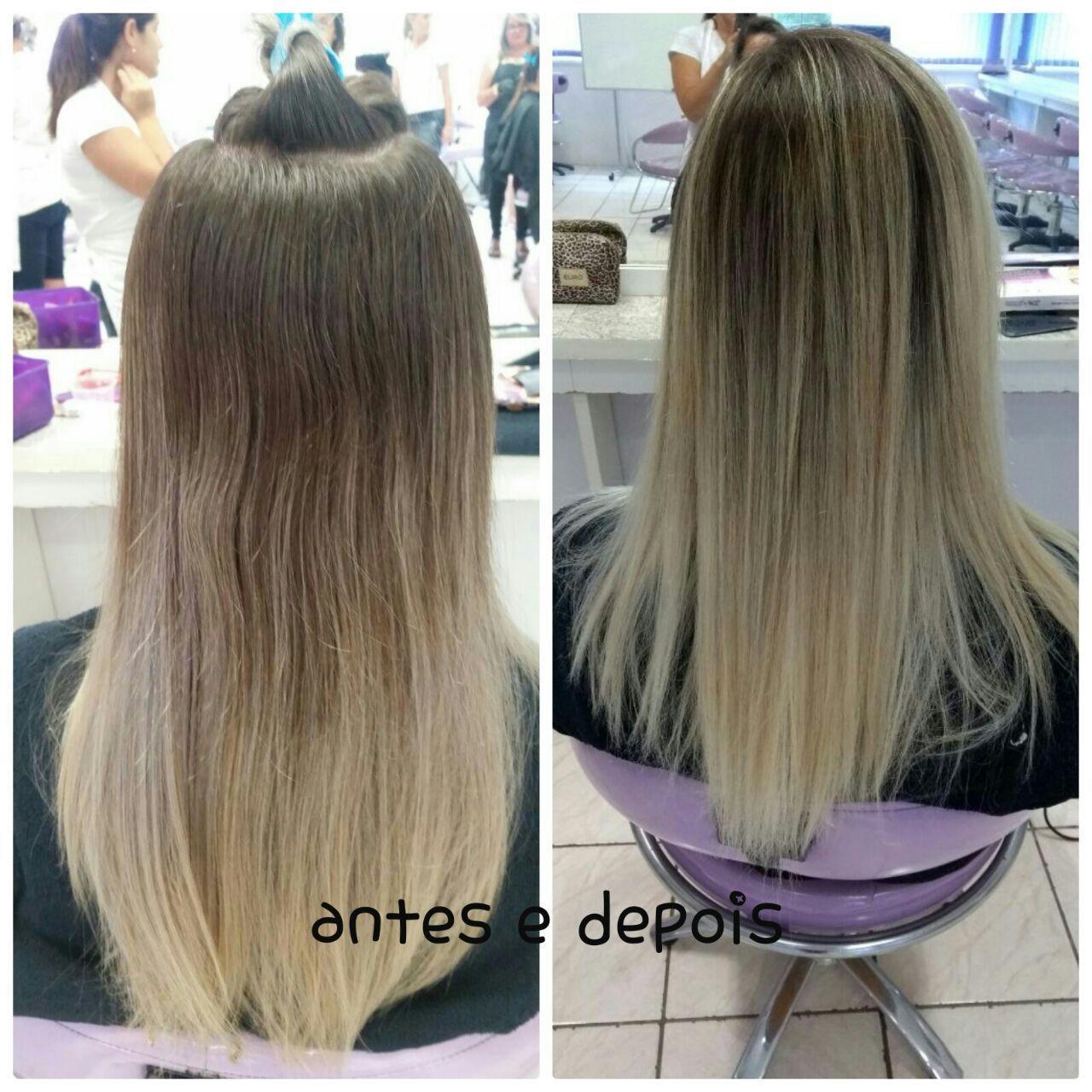 Trabalho de mexas! cabelo auxiliar cabeleireiro(a)