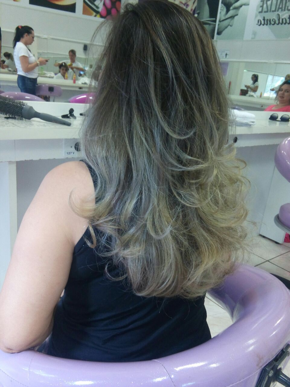 Mexas! cabelo auxiliar cabeleireiro(a)