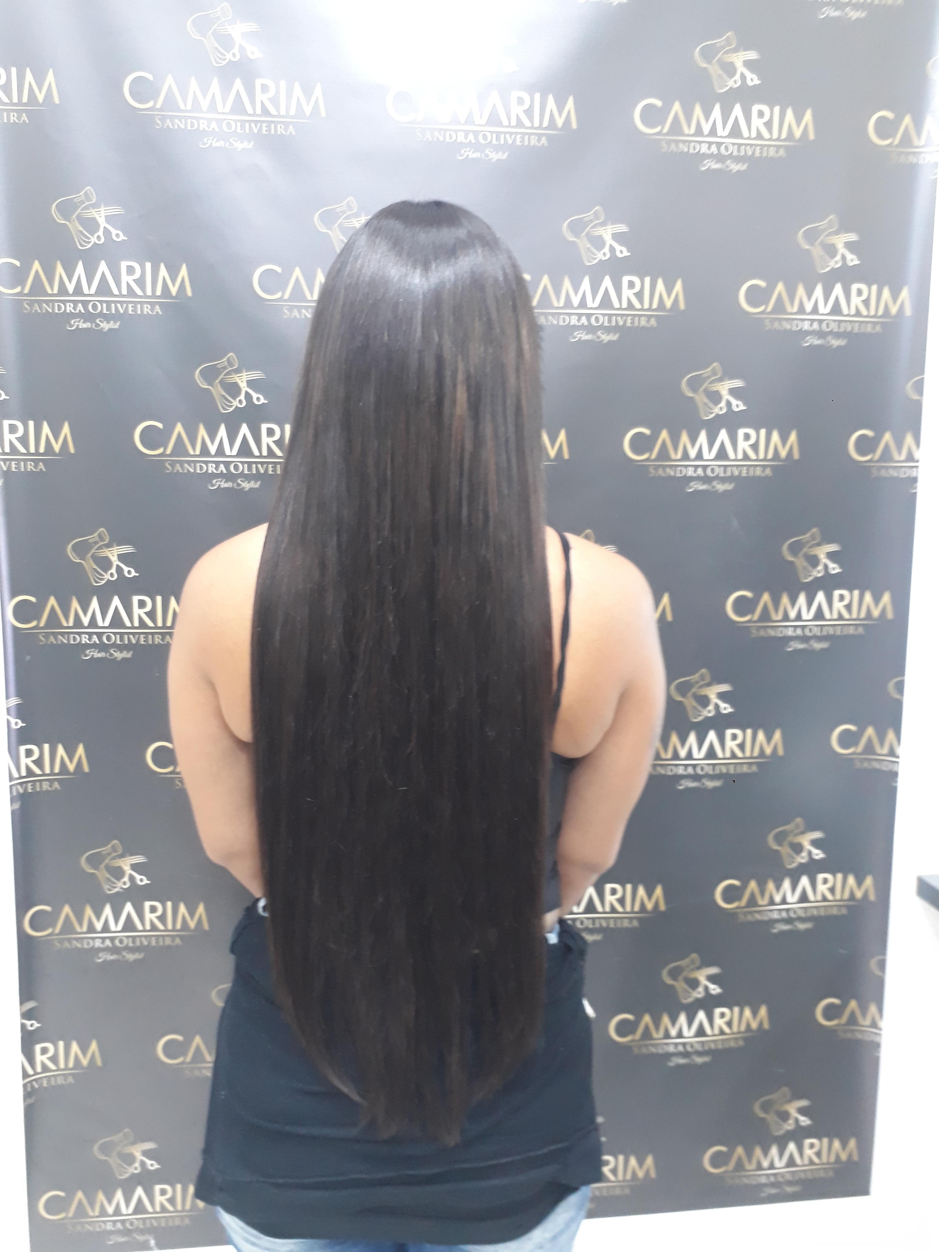 Esse cabelo foi feito um mega hair, método tela outros auxiliar cabeleireiro(a)