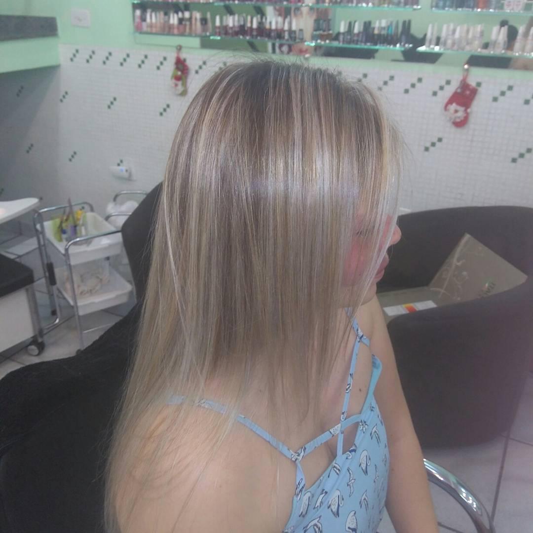 Lindo loiro perolado.. cabelo cabeleireiro(a)