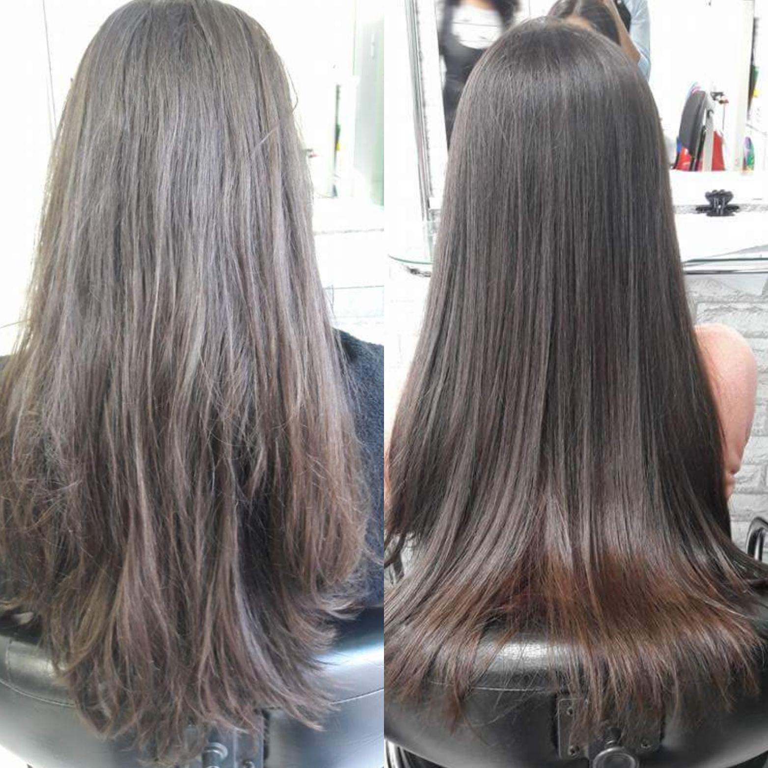 Aplicação de Botox. #hairstyst #hairdresser #aplicacaodebotox #longos #castanhos  #brilho cabelo auxiliar cabeleireiro(a) auxiliar cabeleireiro(a) auxiliar cabeleireiro(a)