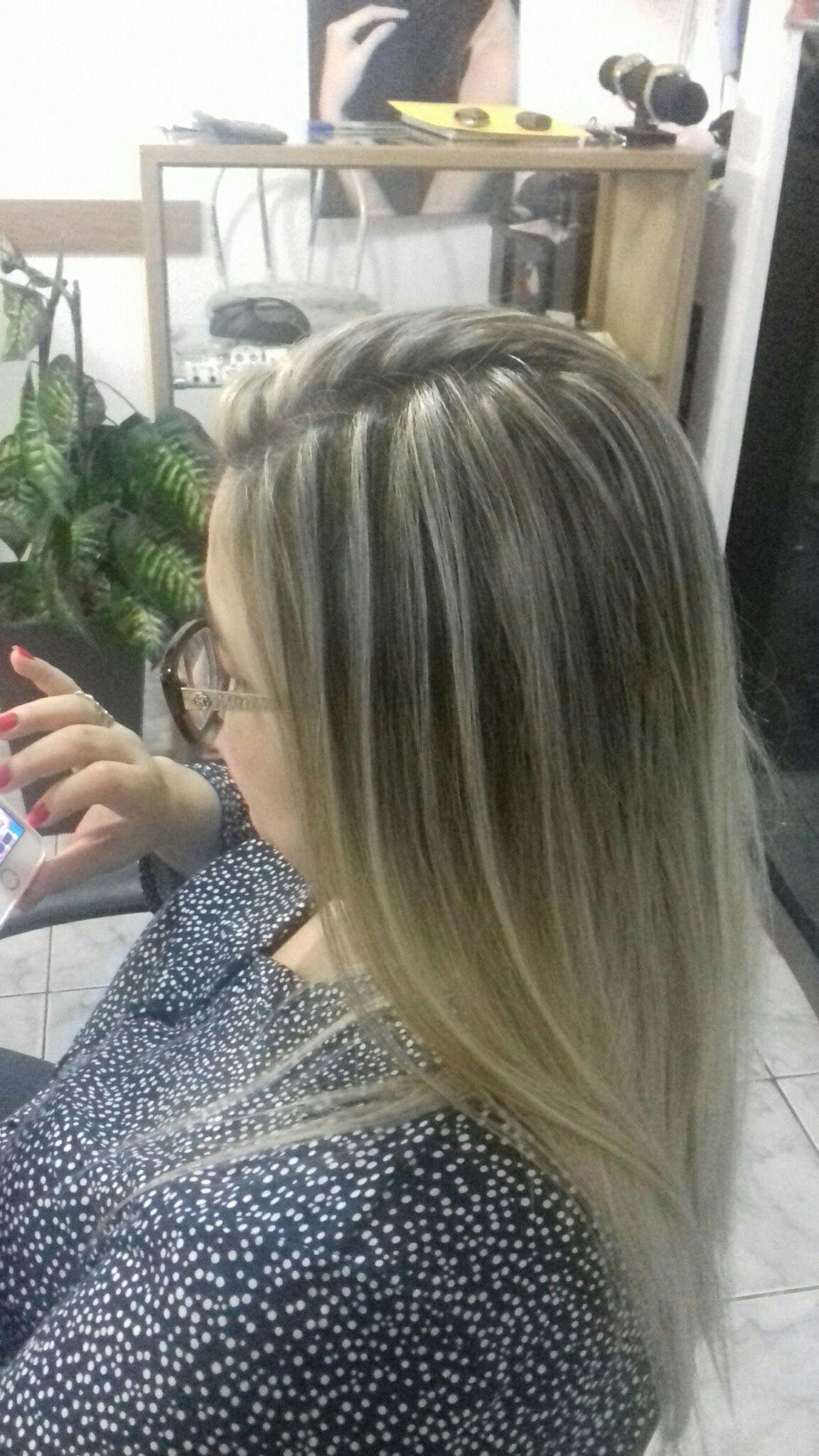 Mechas cabelo cabeleireiro(a)