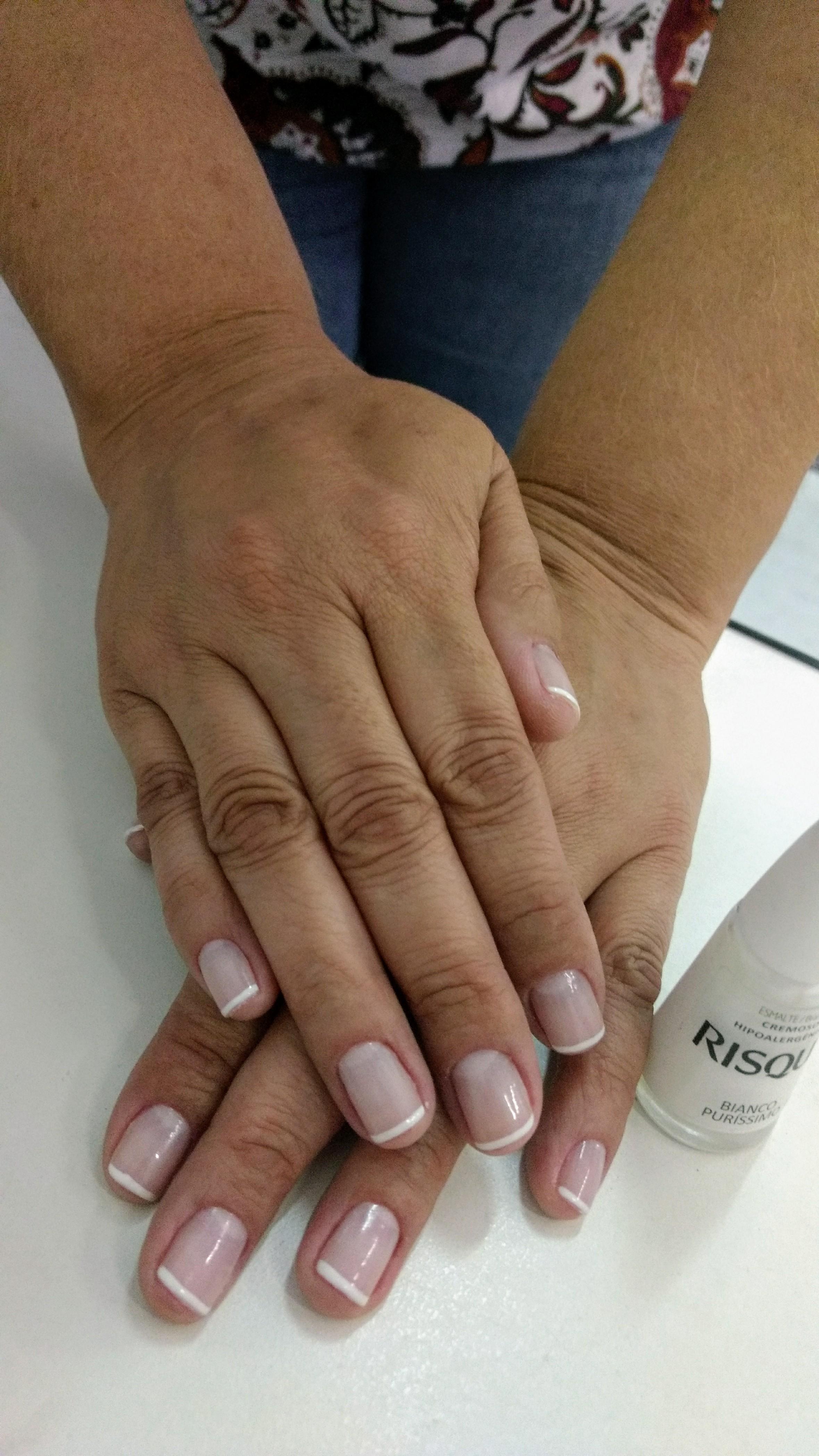 #Francesinha #MeuBraquinho ❤️ unha recepcionista manicure e pedicure