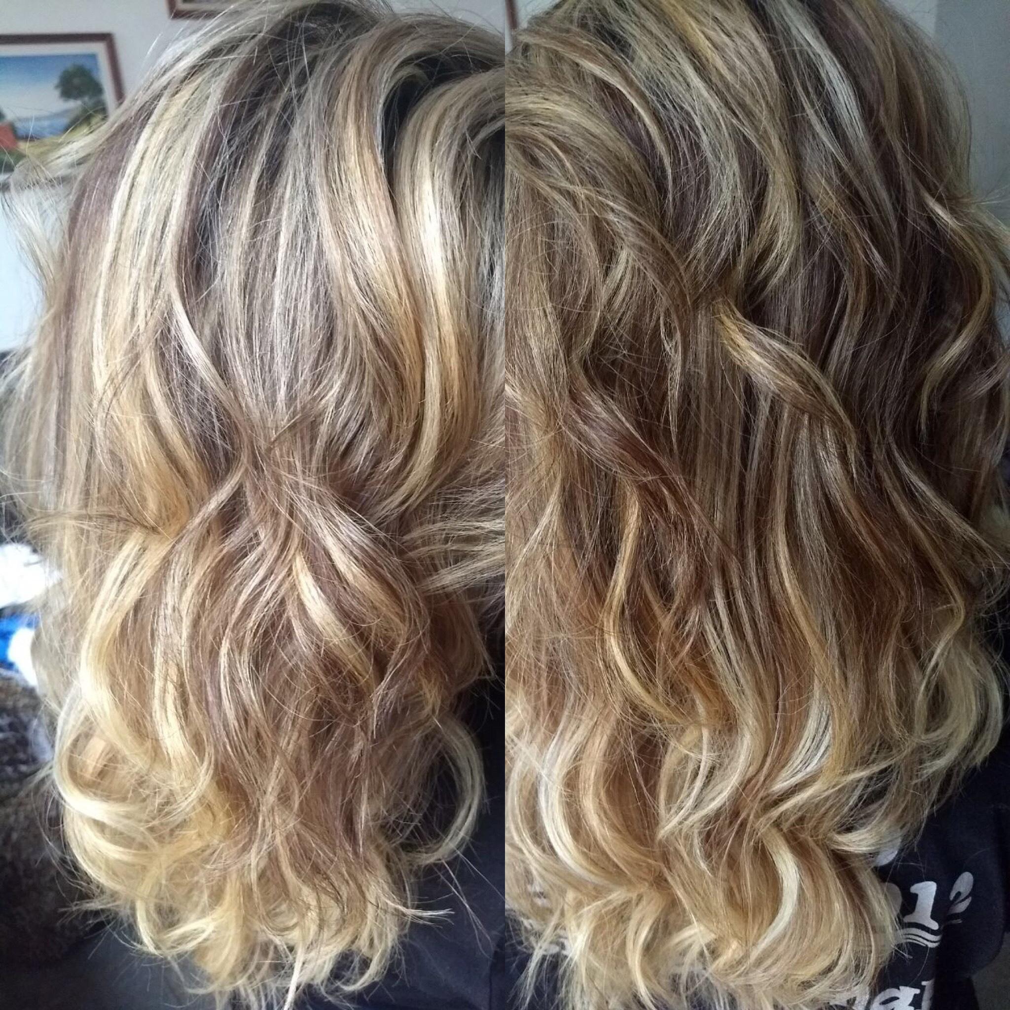 Corte, ombré-hair e modelado com baby liss  cabelo cabeleireiro(a)