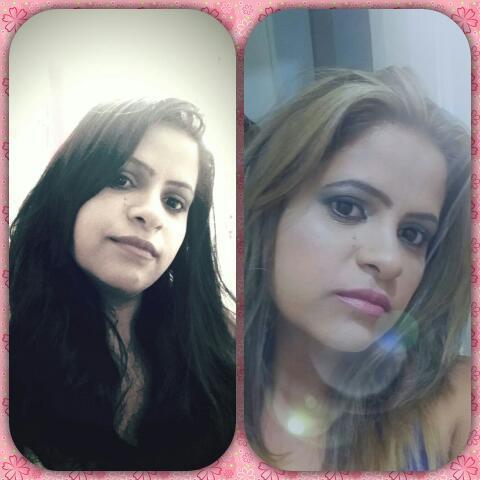 Antes e depois ombre hair cabelo auxiliar cabeleireiro(a)