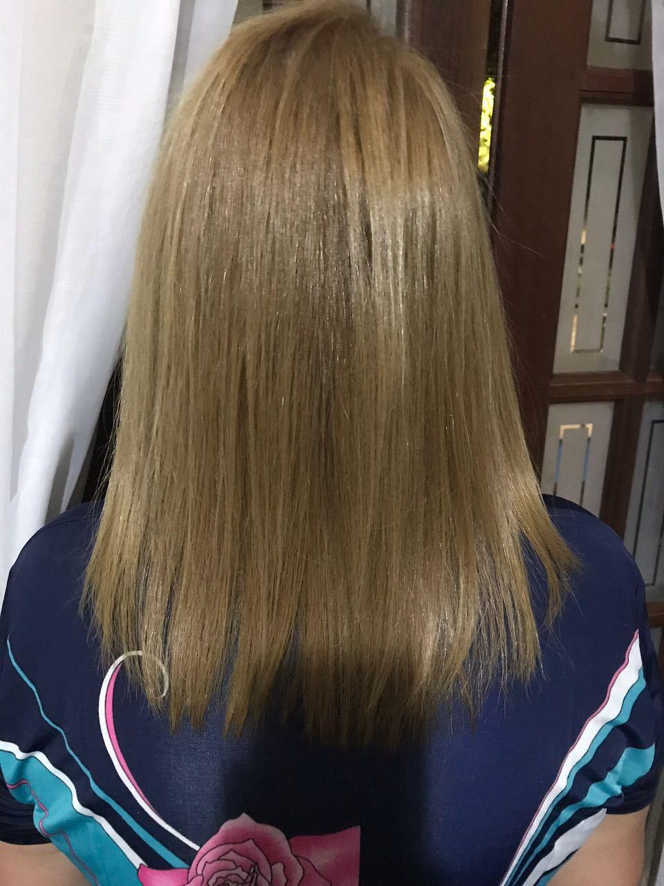 Plástica Capilar @felpsprofissional. Redução de volume, alinha os fios, cabelos nutridos, repõe massa e sela as cutículas. #plasticacapilar #tratamentocapilar #alinhamentodosfios #felpsprofissional cabelo estudante (cabeleireiro) auxiliar cabeleireiro(a) cabeleireiro(a)