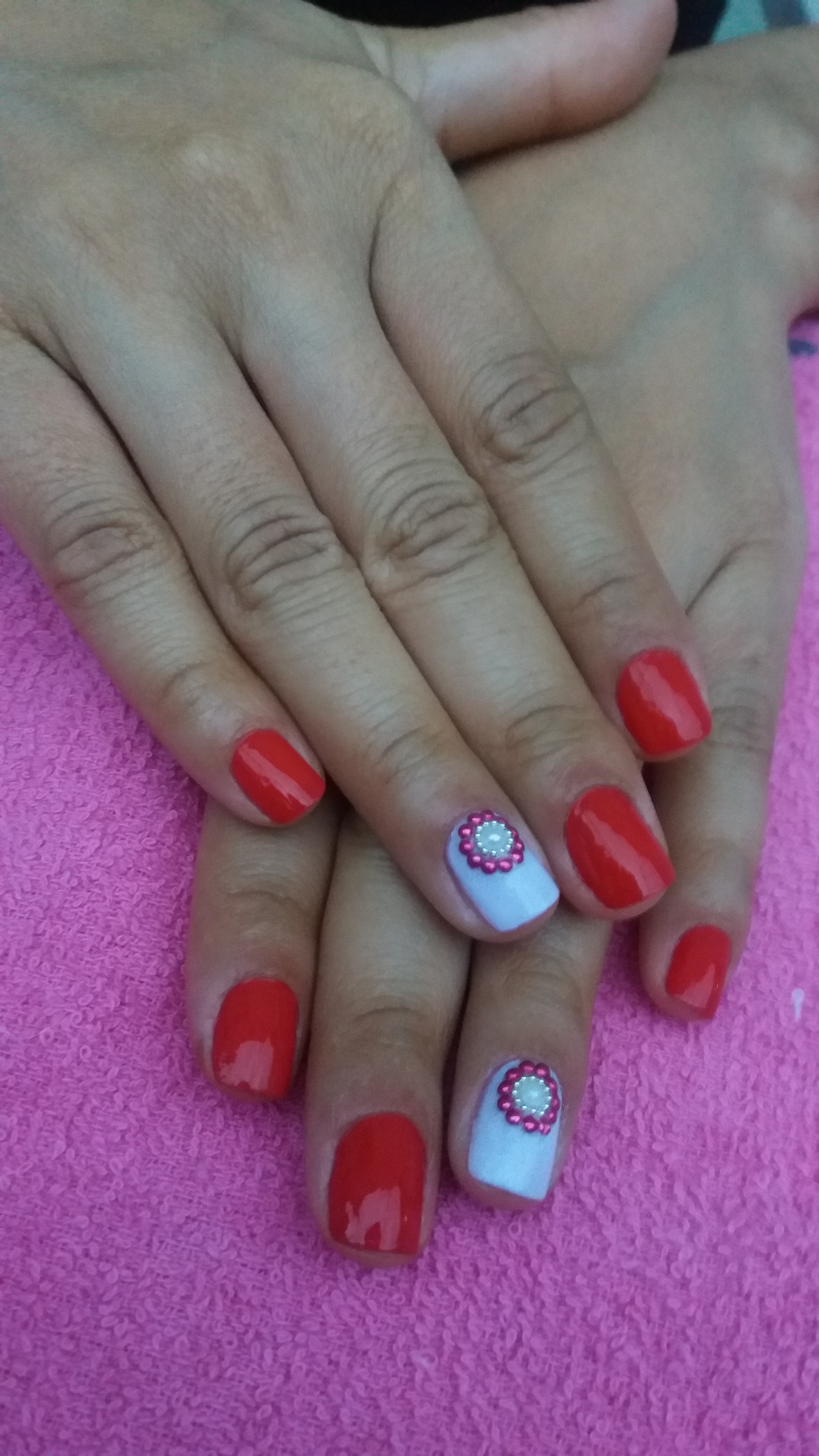 Unha da minha cliente simpática Valéria  unha manicure e pedicure
