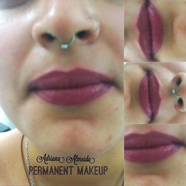 Micropigmentação de lábios estética micropigmentador(a) maquiador(a) designer de sobrancelhas