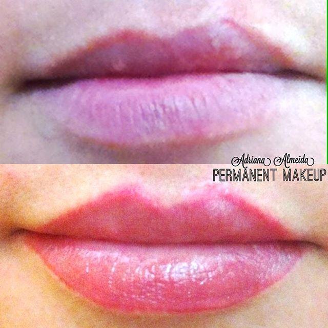 micropigmentação em lábios estética micropigmentador(a) maquiador(a) designer de sobrancelhas