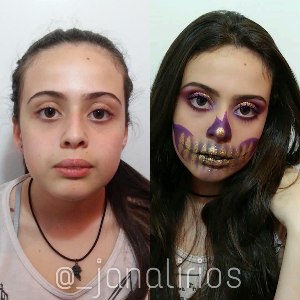 Maquiagem Halloween maquiagem maquiador(a)