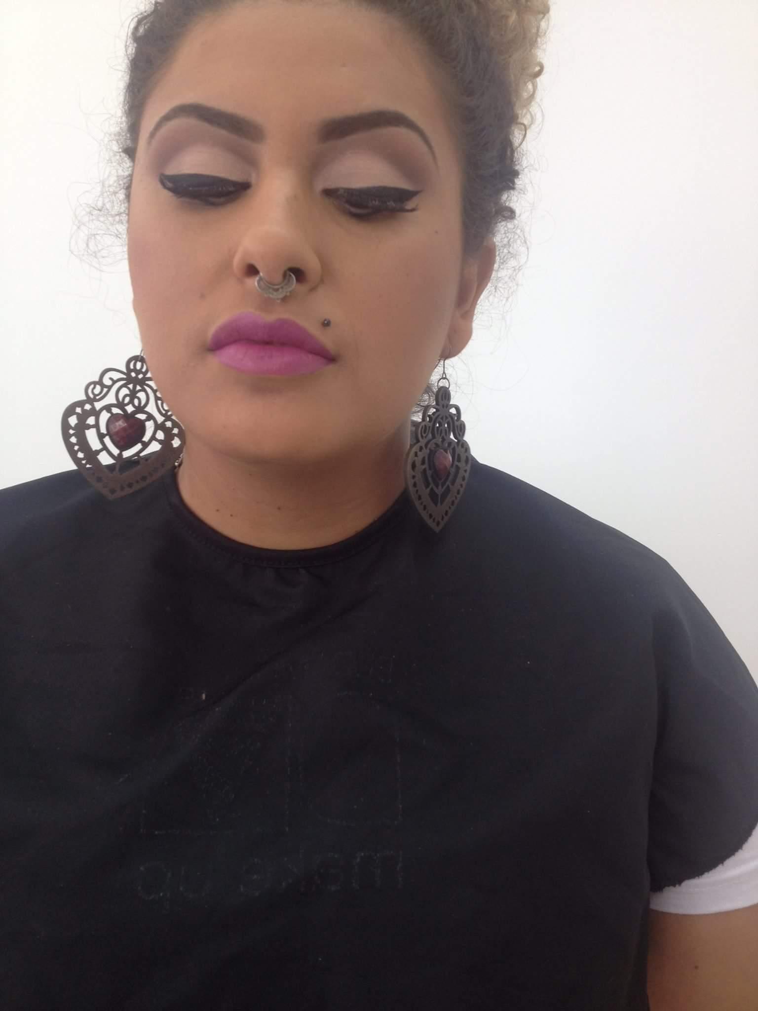 #TreinandoDelineadoNoCurso maquiagem maquiador(a)