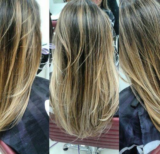Mechas Californianas cabelo cabeleireiro(a)