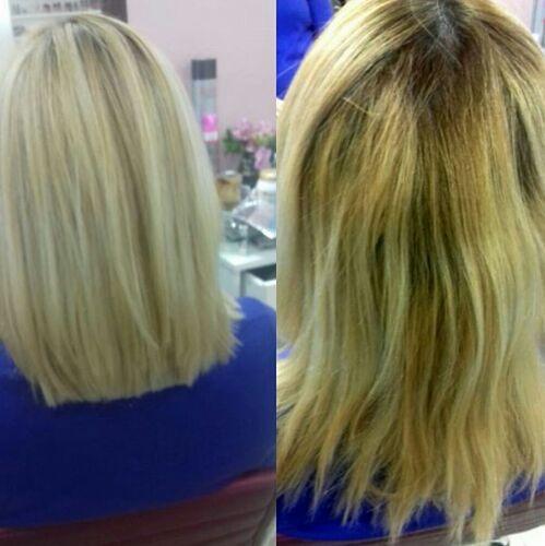 Correção da cor.1 cabelo cabeleireiro(a)