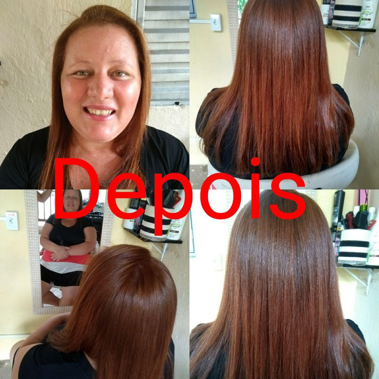 Correção de cor  cabelo estudante (cabeleireiro) auxiliar administrativo manicure e pedicure recepcionista