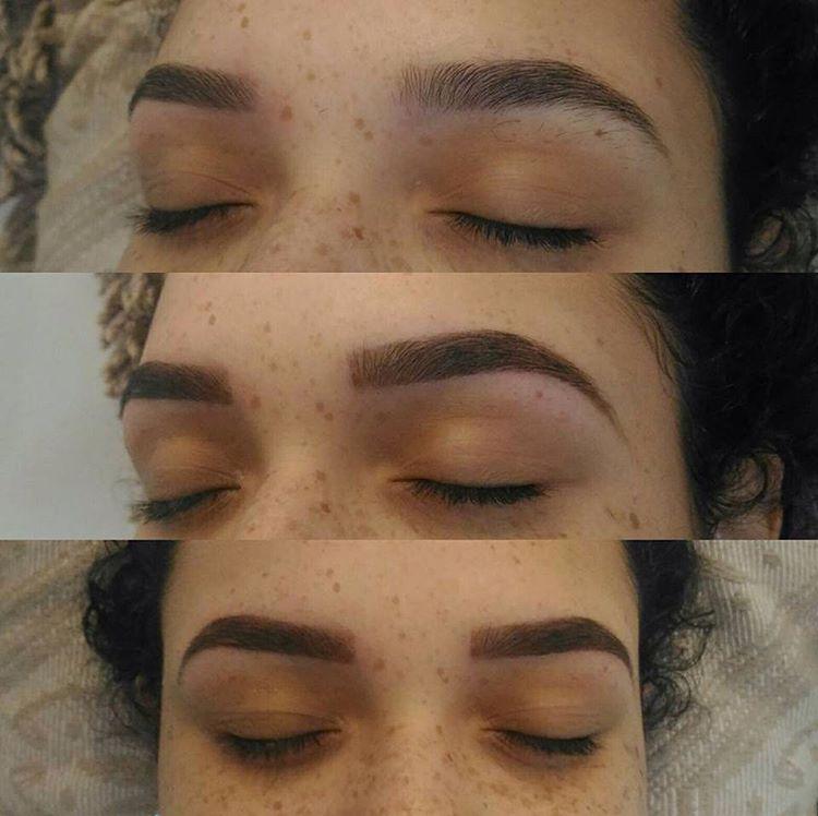 Design de sobrancelha com henna! #henna #designdesobrancelhas #sp  estética designer de sobrancelhas micropigmentador(a)