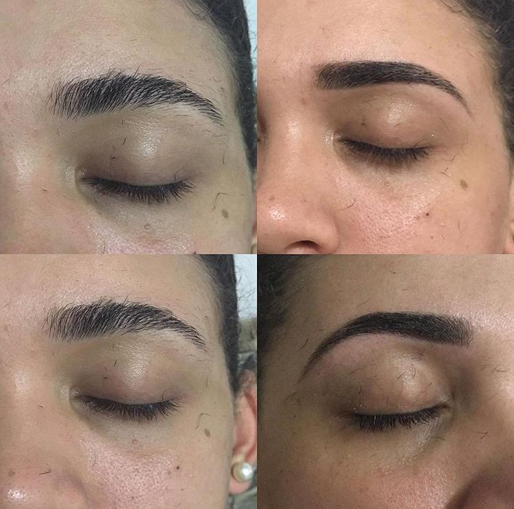 Antes e Depois, design de sobrancelha com henna! #henna #designdesobrancelhas  #sp outros designer de sobrancelhas micropigmentador(a)