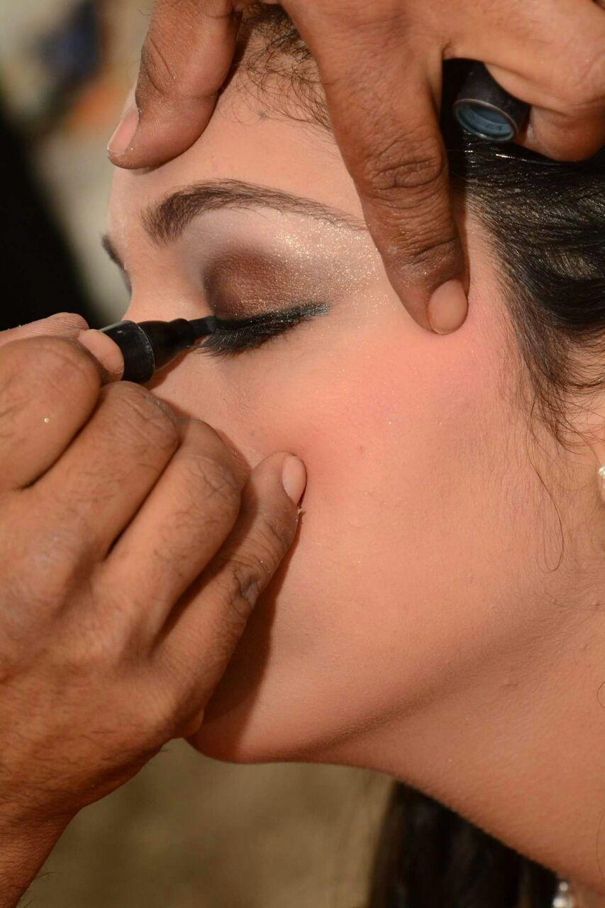 Maquiagem de debutante