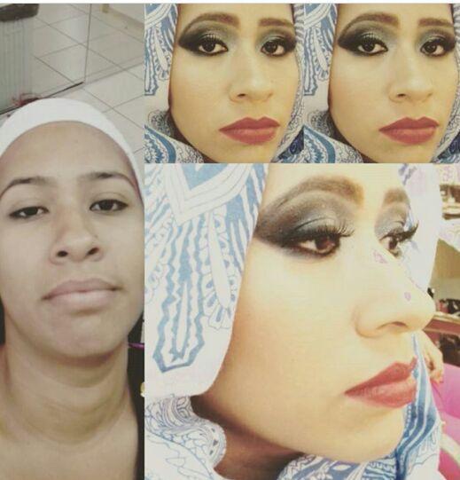 Make...inspiração libanesa. maquiagem cabeleireiro(a)