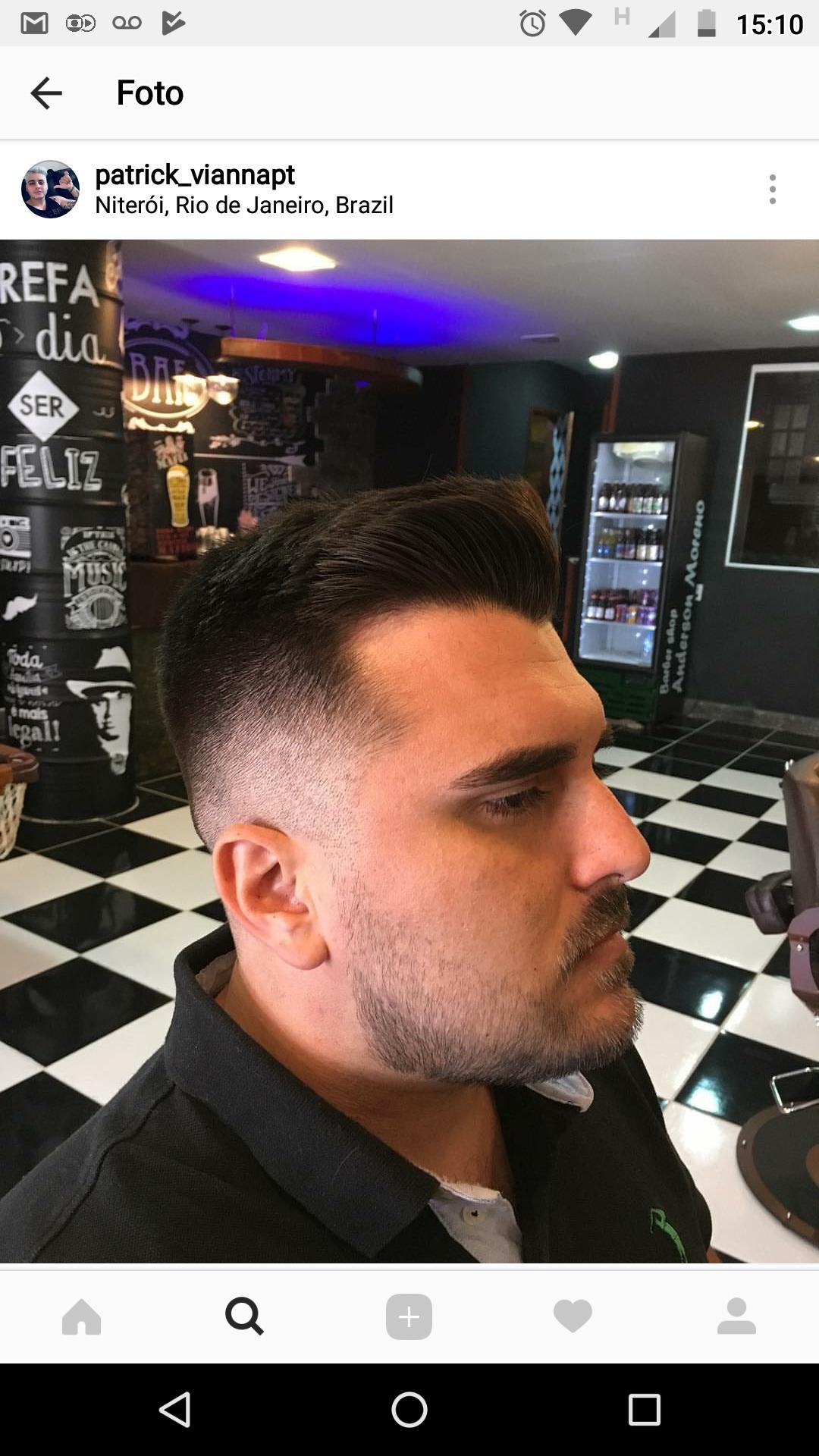 #cliente satisfeito = eu feliz cabelo barbeiro(a)