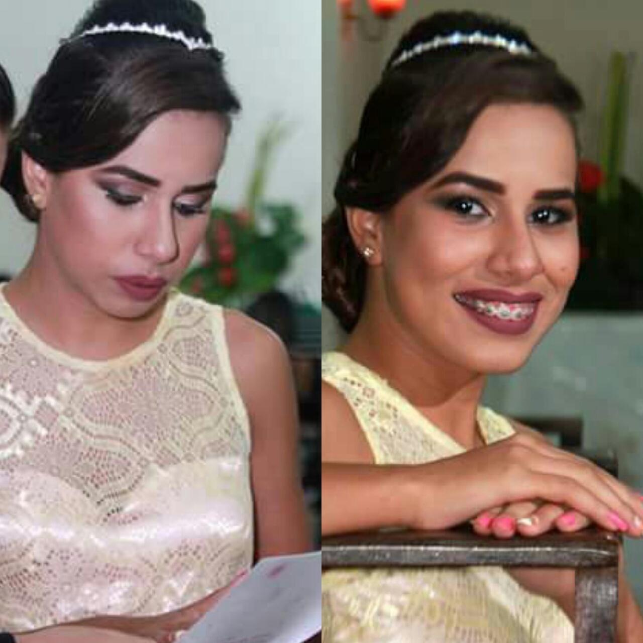 Make#15Anos #Delicada maquiagem maquiador(a) estudante (designer sobrancelha)