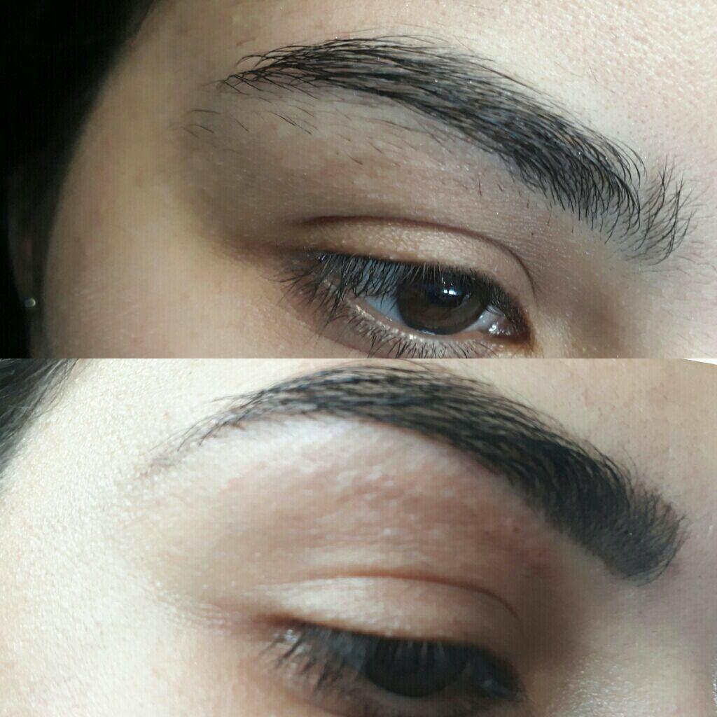 Design de sobrancelhas com henna estética designer de sobrancelhas designer de sobrancelhas