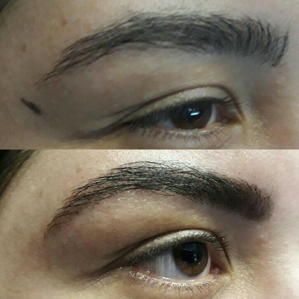 Design de sobrancelha com henna designer de sobrancelhas designer de sobrancelhas