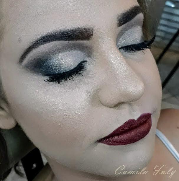 Make clássica para madrinha maquiagem maquiador(a) designer de sobrancelhas